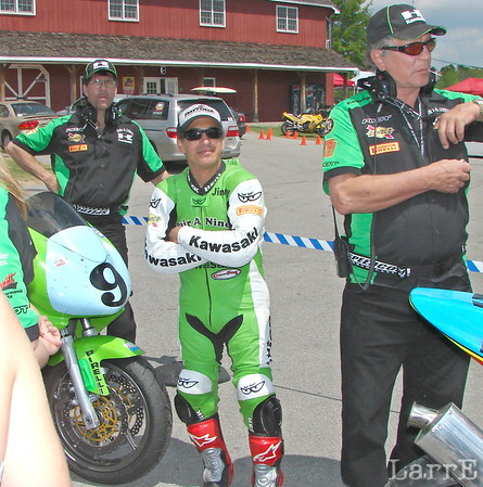 Jimmy Felice and co-rider Jay Springsteen rode the Pair-A-Nines Kawasaki to 2nd in ST class