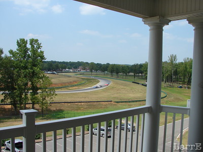 """View from the third floor terrace of """"The Lodge at ViR"""""""