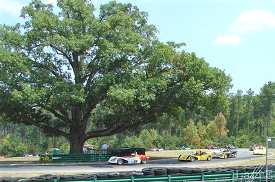 Corner 12 is The Oak Tree Corner. A sharp U-turn at the south end of the track.