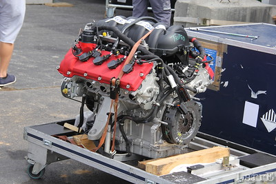this is a Maserati racing engine.