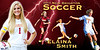3'x6' Vinyl Banner for NBHS Girls Soccer - Hemmed and grommeted on all 4 sides