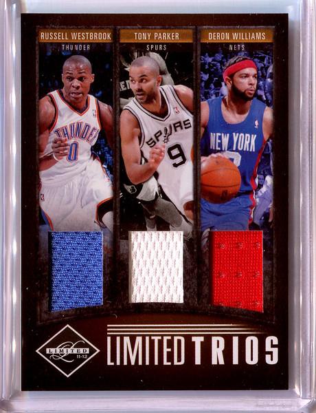 2011 Limited Basketball Limited Trios RW TP DW 29/49