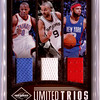 2011 Limited Basketball Limited Trios RW TP DW 29/49