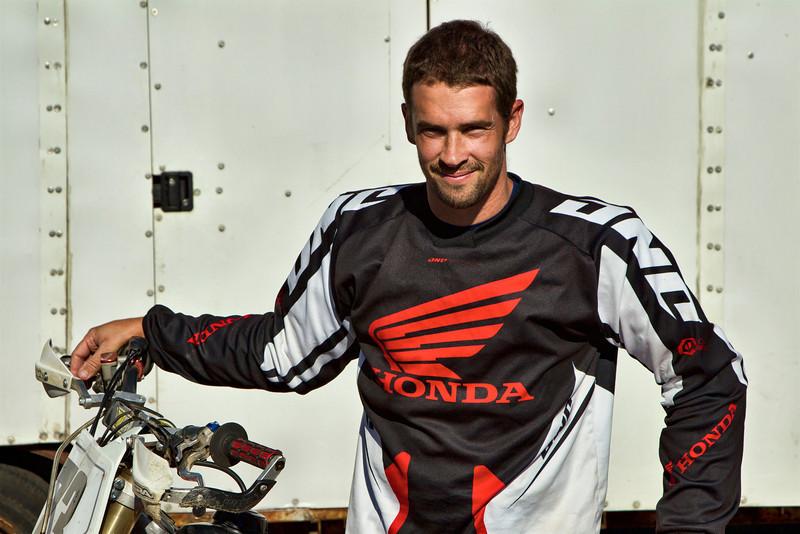 Aaron Grey - Supermoto rider, Bike # 73