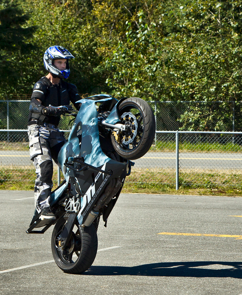 Steven James Carey - Stunt Rider