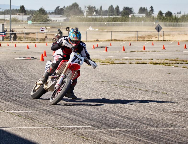 # 73 - aaron Grey racing at Tradex