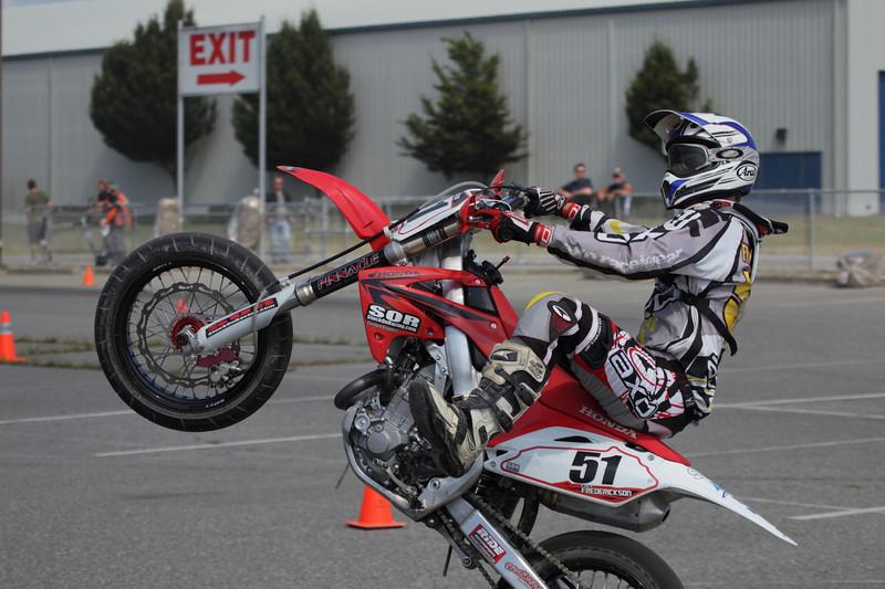 # 51 - Cole Fredericson does a wheelie