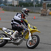 # 33 - John Brown sliding into turn 1 at the BC Supermoto Nationals