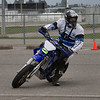 Brad Wilson heads into turn # 1 at the BC Supermoto Season Opener