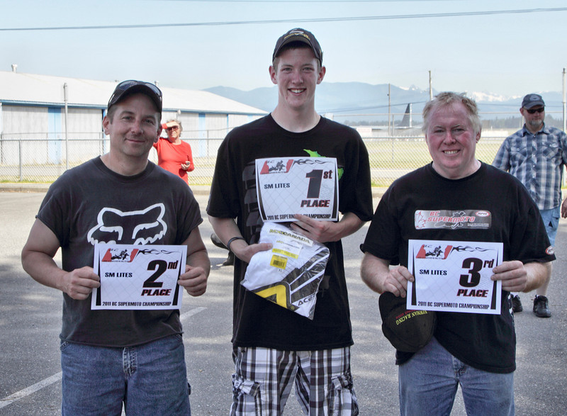 BC Supermoto - July 24th Race results - SM Lites
