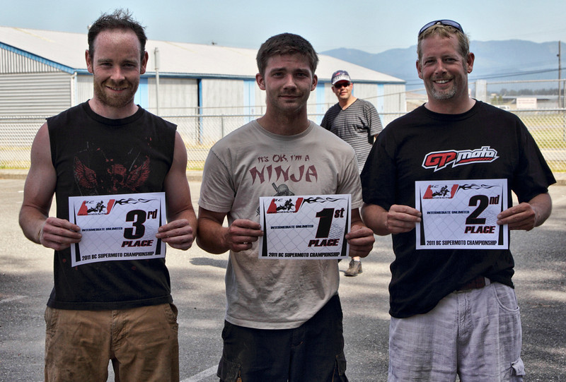 BC Supermoto - July 24th Race results - Intermediate Unlimited