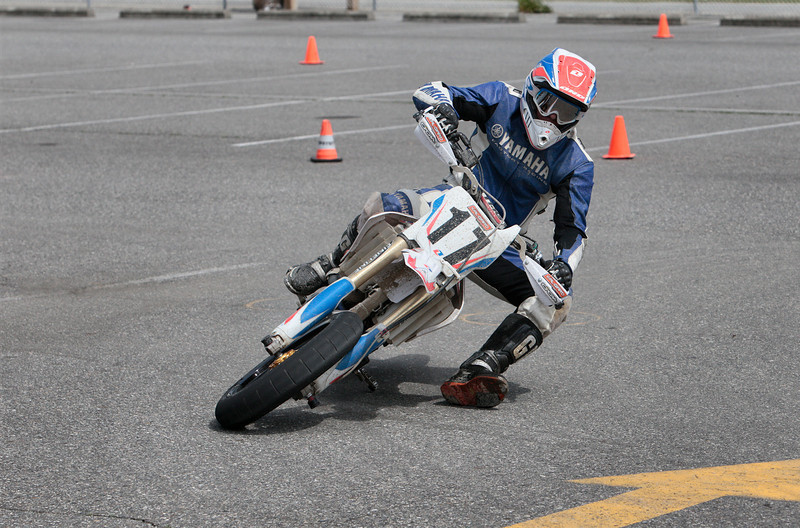 # 17 - Chris Takes 1st place in the Expert 450 class and 2nd Place in the Vet 30 Class at the BCSupermoto races on May 22nd, 2011 event.
