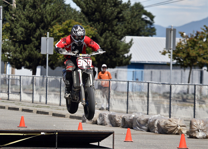 990 - Devin gets air over the ramp