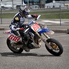 #818 - Greg takes 3rd place in the Vet 30 class class at the BCSupermoto races on May 22nd, 2011