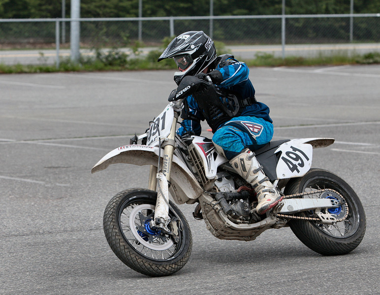 # 491 - ShawnTakes 3rd place in the Vet 40 class at the BCSupermoto races on May 22nd, 2011