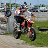 # 14 - Ryan Takes 1stplace in the Intermediate 450 class and the Intermediate Unlimited class at the BCSupermoto races on May 22nd, 2011