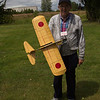 Gerry Boyd and his Japanese Zero from the Vancouver Gas Model Club.