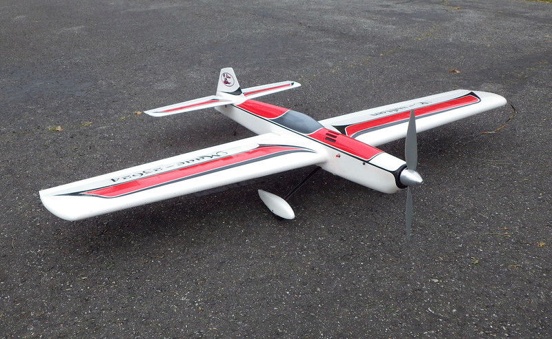 A Cable controlled Model built and operated by Keith Varley of the Vancouver Gas Model Club