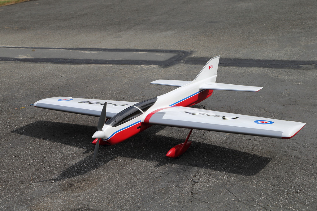 Alan Resinger's Crossfire model aircraft.