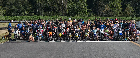 The PCMRC Family out for a weekend of fun at Greg Moore Raceway
