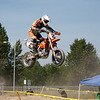 Barry Rempel takes lots of air at RPMSupermoto Round 2, Tradex Track in Abbotsford