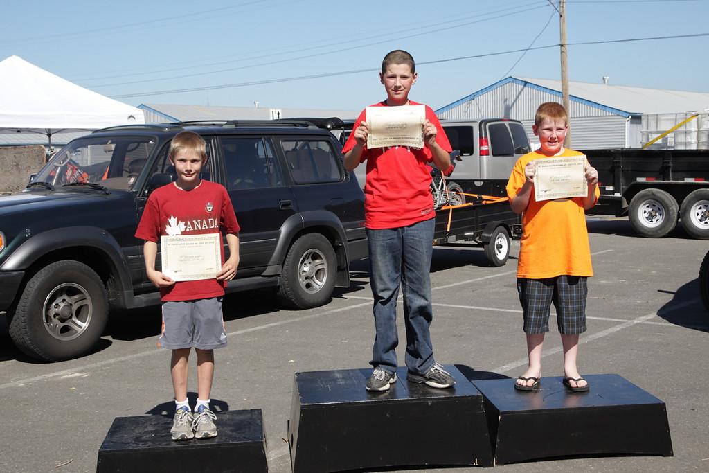 Kids - 1st, Sam Wastrom, 2nd, Tyler Swift, 3rd Lachan Ramsay,5F-6463