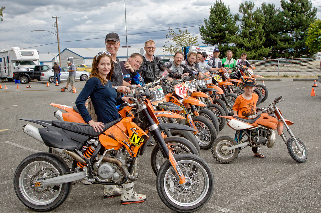The KTM Lineup - 005F1466 - 12 KTM riders hep to make the Nationals a special event