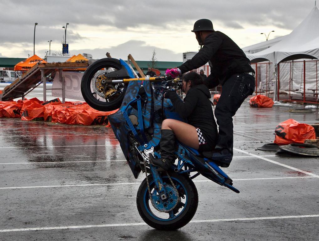 Matty takes a friend for a ride - ectreme style