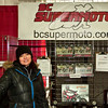 Heather, President of the BC Supermoto Club.