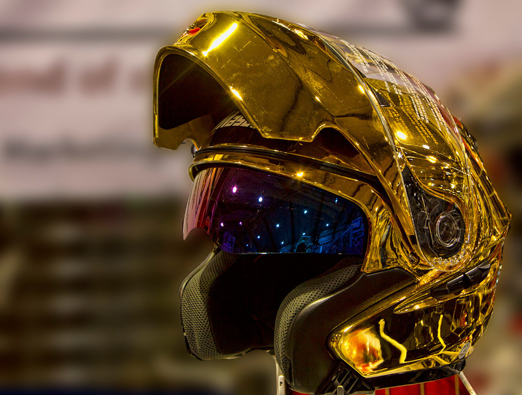 And the Golden Helmet goes to.....