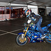 Fast stunt action at the Vancouver Motorcycle Show - 2012