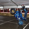 Westcoast Freestyle Stunt Show riders wow the audience at the Vancouver Motorcycle Show