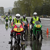Novice and first time riders line-up for their practice run - Filename - Novice_Riders-02P5551