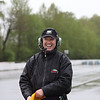 Ted, on Corner Duty at the April 27th, 2018 Round 2 races at Mission Raceway Park, BC. It was a wet and rainy day...those are raindrops you see in this image.