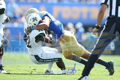 NCAA Football 2017: Hawaii vs UCLA SEP 09