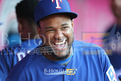 MLB 2018: Rangers vs Angels JUN 01