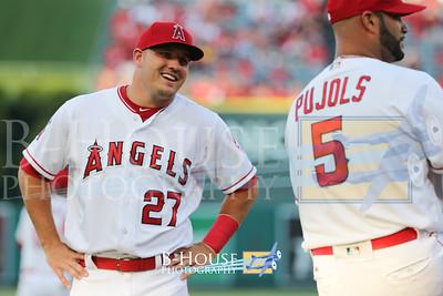 MLB 2017: Nationals vs Angels JUL 18