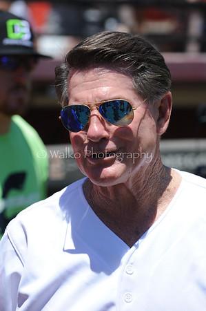 MLB:  JUL-2016 - Celebrity Sweat