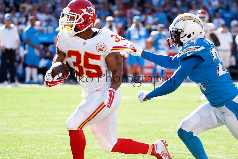 NFL: NOV 22 Chiefs at Chargers