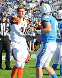 NFL: DEC 01 Bengals at Chargers