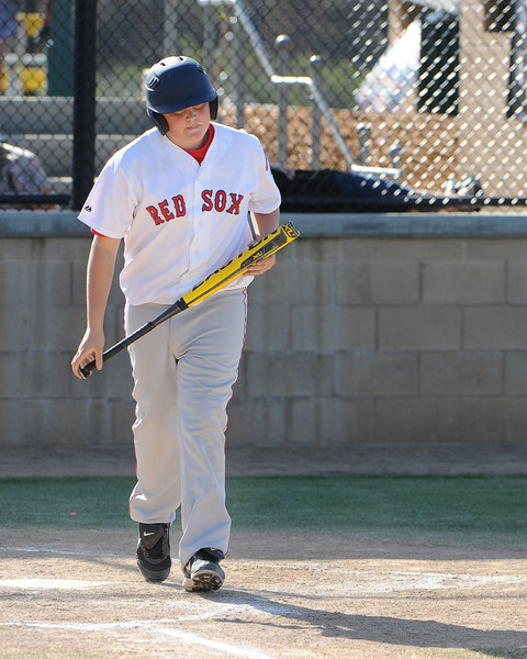 March 15, 2014 - Alpine American Little League - Majors Red Sox play an inter-league game with the Lakeside National Little League.