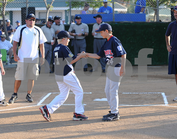 District 41 -12 Year Old All Star Championship Game - Jamul vs Rancho San Diego.  Ranch San Diego defeated Jamul 11-1 and moves on to Sectional play for District 41.  Game played at West Hills Little League in Santee, Ca.