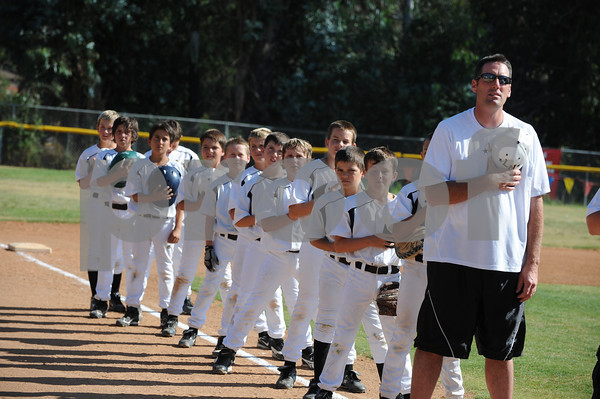 District 41 - 9-10 Year Old All Star Game - El Cajon National  defeated Lakeside National 8-1 and moves on in pool play at Alpine American Little League in Alpine, California.  - A 5.4 Earthquake shook the park just before the start of the game!