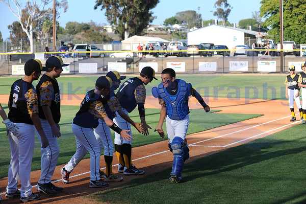 Lakeside National Little League defeats Santee Pioneer 5-3 in District 41 All Star game at Fletcher Hills Little Mor Field.