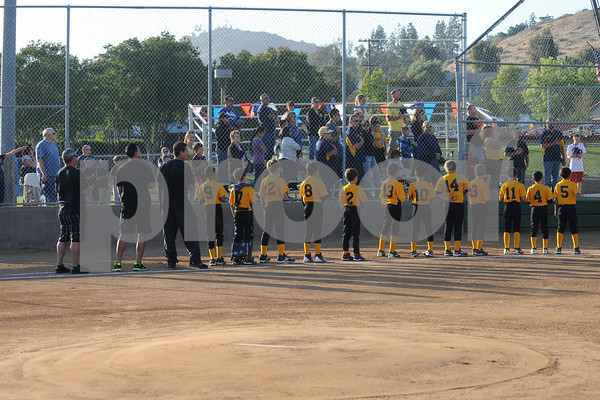 2012 District 41 Minors TOC - Jamul Pirates vs Lakeside National Padres - June 08, 2012 @ El Cajon National Fields