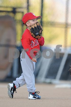 LNLL T-ball Angels - March 14, 2012