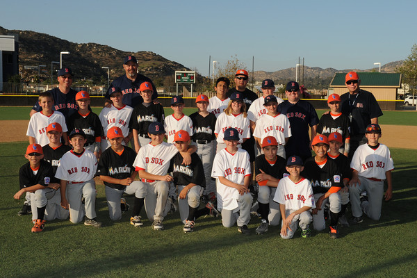 March 15, 2014 - Lakeside National Little League Major Marlins versus the Alpine American Little League Major Red Sox.