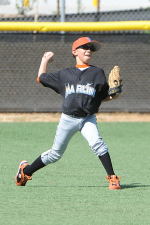 March 15, 2014 - Lakeside National Little League Major Marlins versus the Alpine American Little League Major Red Sox.