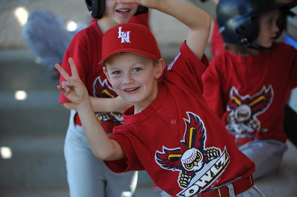 March 15, 2014 - Lakeside National Little League Rookies Owlz.
