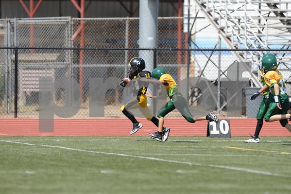 Lakeside Longhorns Jr. Peewee Gold vs San Carlos Patriots